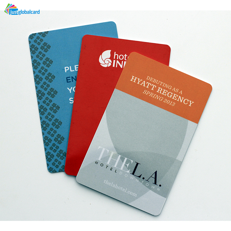 Customized CMYK printing RFID NFC Hotel key card for access control
