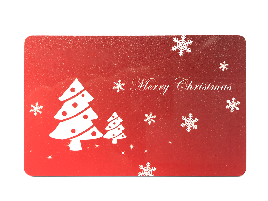 Professional Design Various Style Christmas Party Gift Card